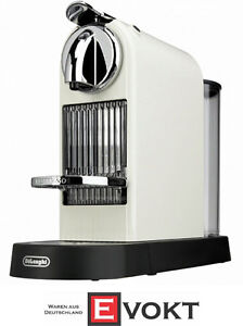 DeLonghi Nespresso Citiz EN 166.CW 60's White Capsule Coffee Mac