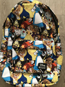 Disney Beauty & The Beast Backpack - BRAND NEW