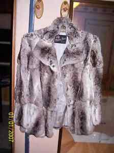 Beautiful Real Chinchilla Fur Coat!