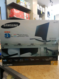 Samsung 3d HD 27inch monitor with 3d glasses
