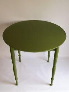 Table Vintage Peinte - Vintage Painted Table