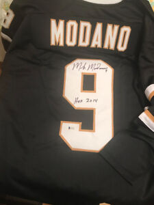 Mike Modano Signed Autographed Dallas Stars Jersey With COA HOF