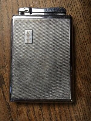 Unusual 1950s Retro Colibri Cigarette Cigar Case Lighter Vintage Smoking Item