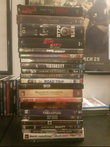 Big stack of 22 DVDs only $20 for the lot