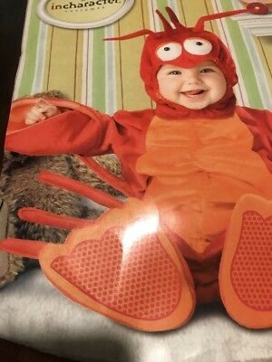 Lil' Lobster Costume Baby Large (18mos-2T)