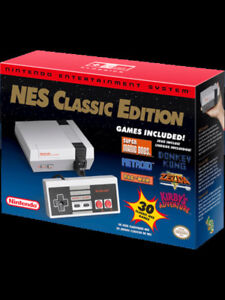 Nintendo NES Classic - New - Upgraded to 697 Games!