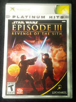 Star Wars Episode III for Xbox
