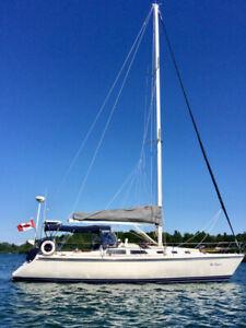 1989 Catalina 42 - Picton Ontario