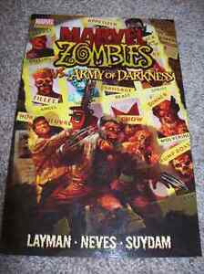 MARVEL ZOMBIES VS. ARMY OF DARKNESS TRADE PAPERBACK TPB