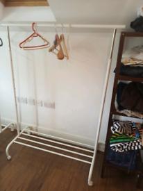 Clothes rack hanger wardrobe