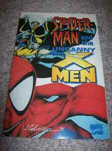 SPIDER-MAN & THE UNCANNY X-MEN TRADE PAPERBACK TPB