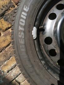 Meriva spare wheel