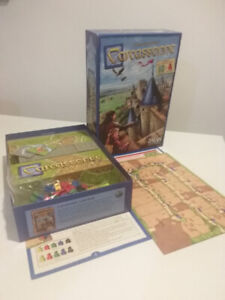 Carcassonne boardgame, 10/10 Condition