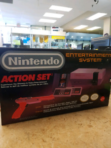 Nintendo system action set in box