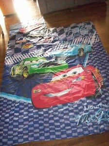 Cars Twin/Full Size Comforter, Sheet Sets, Blankets & Pillow