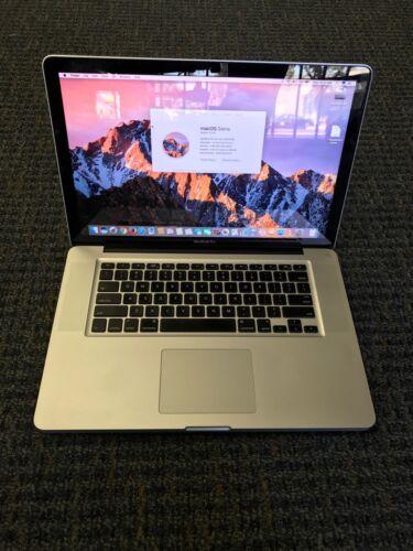 "Macbook Pro - Apple 15"" MacBook Pro 2.4ghz Dual-Core i5 MC371LL/A Upgraded to 8gb RAM 500gb HD"