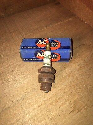 Vintage AC 48X Spark Plug With Box
