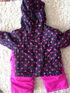 Girls 2T snow suits/jackets-pants