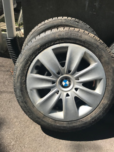 pneus bmw 205 55 r16 hiver / winter tires