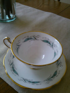 Vintage Tea Cups and Saucers.