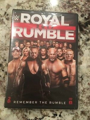 WWE: Royal Rumble 2017 (DVD, 2017, 2-Disc Set)