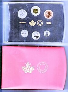 Canada Specimen coin sets 1981-2008