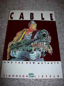 CABLE AND THE NEW MUTANTS TRADE PAPERBACK TPB