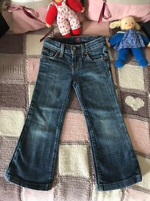 Seven for all mankind 4 T Gr 104 110 Jeans USA Sehr Cool  4t Jeans