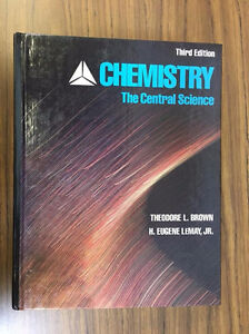 Chemistry: the central science TEXT BOOK York University