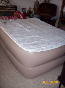 Raised Airbed - QUEEN Size