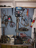 """King Canada Drill Press With Special 1"""" Chuck - 16 speed"""
