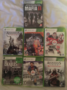 Xbox 360 games for 5$