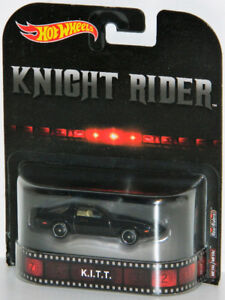 Hot Wheels Retro 1/64 K.I.T.T. Knight Rider Diecast Car