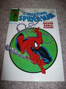 SPIDER-MAN: SILVER SABLE TRADE PAPERBACK TPB