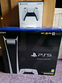 PS5 Digital with extra controller