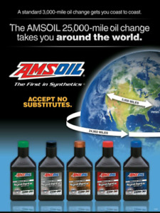 Amsoil Synthetic Lubricants and Oils