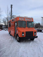 Mini donut truck looking for contract