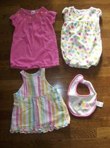 Gymboree 'Snuggle Bug' 4 Piece Set, Size 3-6 months