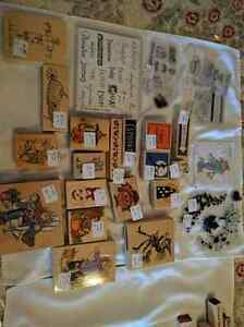 New & gently used rubber art stamps for sale Kawartha Lakes Peterborough Area image 3