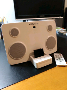 Stereo iPod Dock with Bluetooth Adapter