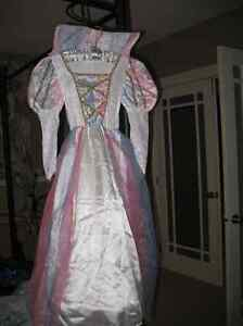 Rainbow Princess Halloween or Playtime Gown