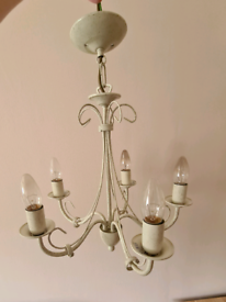 Ornate / Antique style Ceiling Light Fitting (5 bulb)