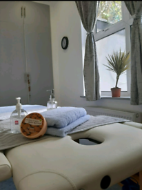 Amazing oil massage by Fit male masseur