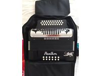 HOHNER PANTHER ACCORDION and QUALITY CASE