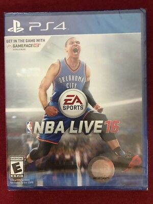 🏀Brand New!!! NBA Live 16 (Sony PS4, 2015) Factory Sealed!!!🏀 comprar usado  Enviando para Brazil