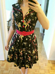 VINTAGE INSPIRED SCI-FI PINUP DRESS BRAND NEW WITH TAG