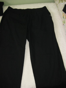 Black Scrub Pants for Sale