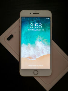 Unlocked 64gb Gold Apple iPhone 8 Plus