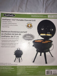 """14.5"""" PORTABLE CHARCOAL GRILL FOR SALE"""