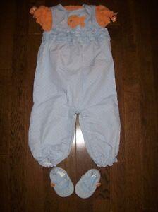 Gymboree 'Little Goldfish' Outfit & Shoes, Size 12-18 months